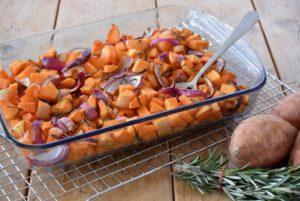 Typische herfst – geroosterde pompoen
